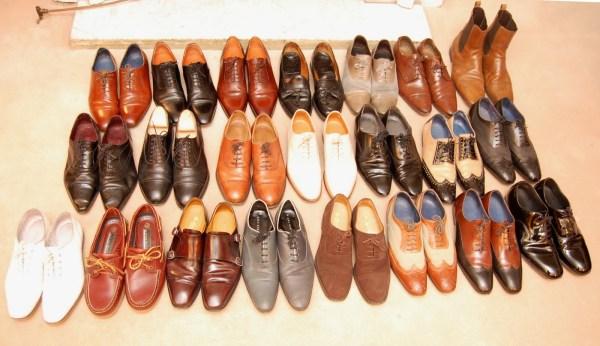mode-lelaki-koleksi-sepatu